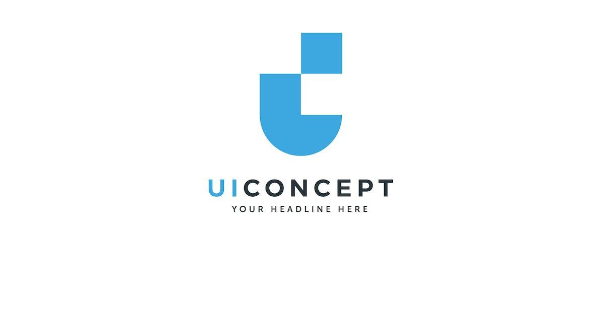 Download UI Concept Logo  U I C Letter Template by Pixasquare