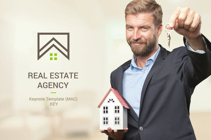 Thumbnail for Real Estate Keynote Template