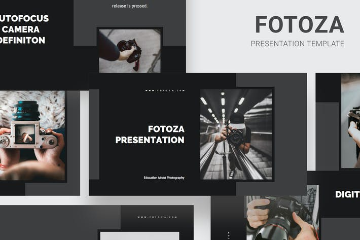 Thumbnail for Fotoza - Education About Photography Keynote