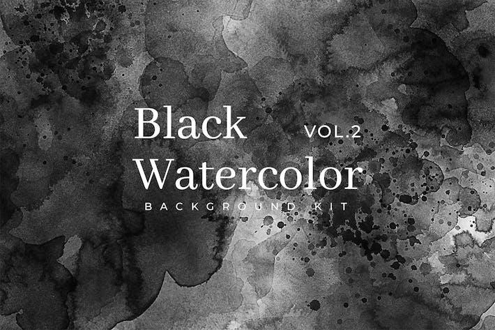 Thumbnail for Black Watercolor Kit Vol. 2