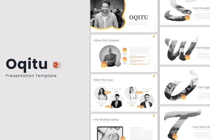 Thumbnail for Oqitu - Powerpoint Template