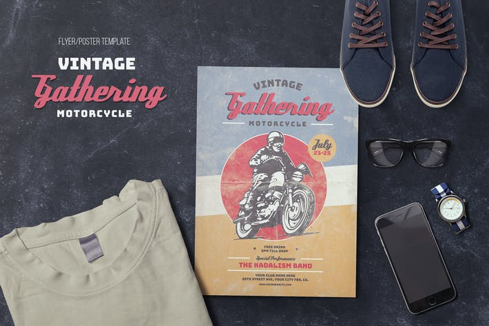 Thumbnail for Vintage Motorcycle Gathering