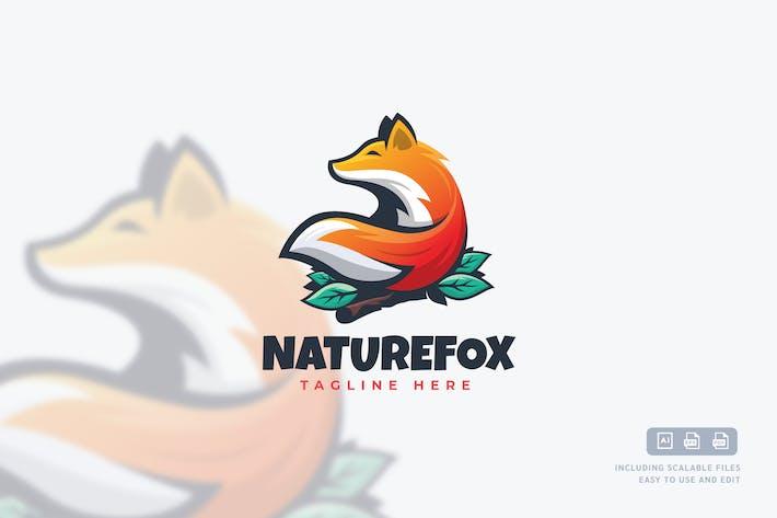 Thumbnail for Modelos de logo Nature Fox