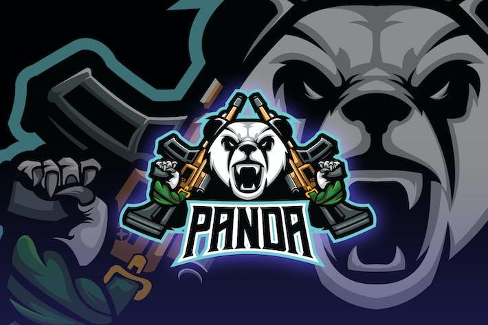 Thumbnail for Villain Panda Esport Logo
