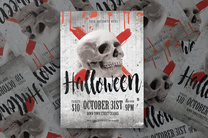 Thumbnail for Halloween Flyer