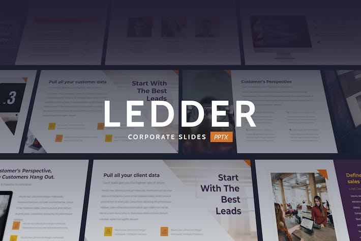 Thumbnail for Ledder - Elegant Business Theme Powerpoint