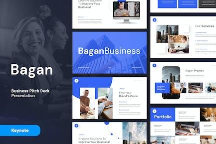 BAGAN - Business Corporate Keynote Template
