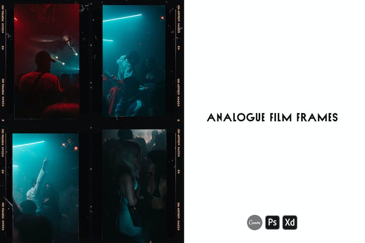 Thumbnail for Analogue Film Frame Instagram Story Templates