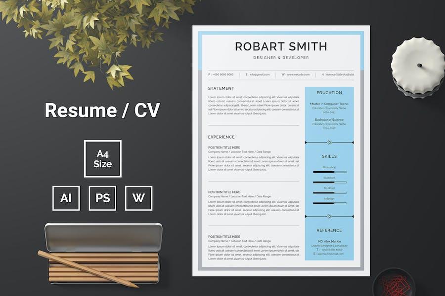 Resume Template 89