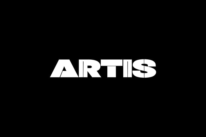 Thumbnail for ARTIS - Unique Display / Headline / Logo Typeface