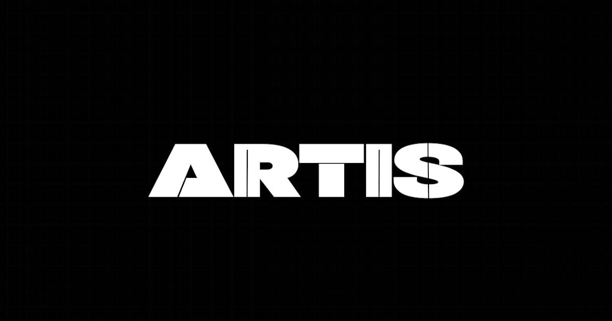 Download ARTIS - Unique Display / Headline / Logo Typeface by designova