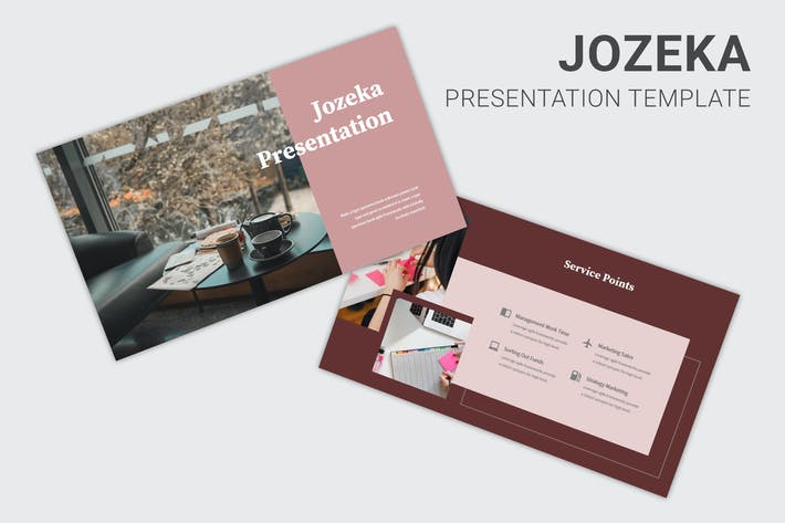 Jozeka - Investor Pitch Deck Keynote