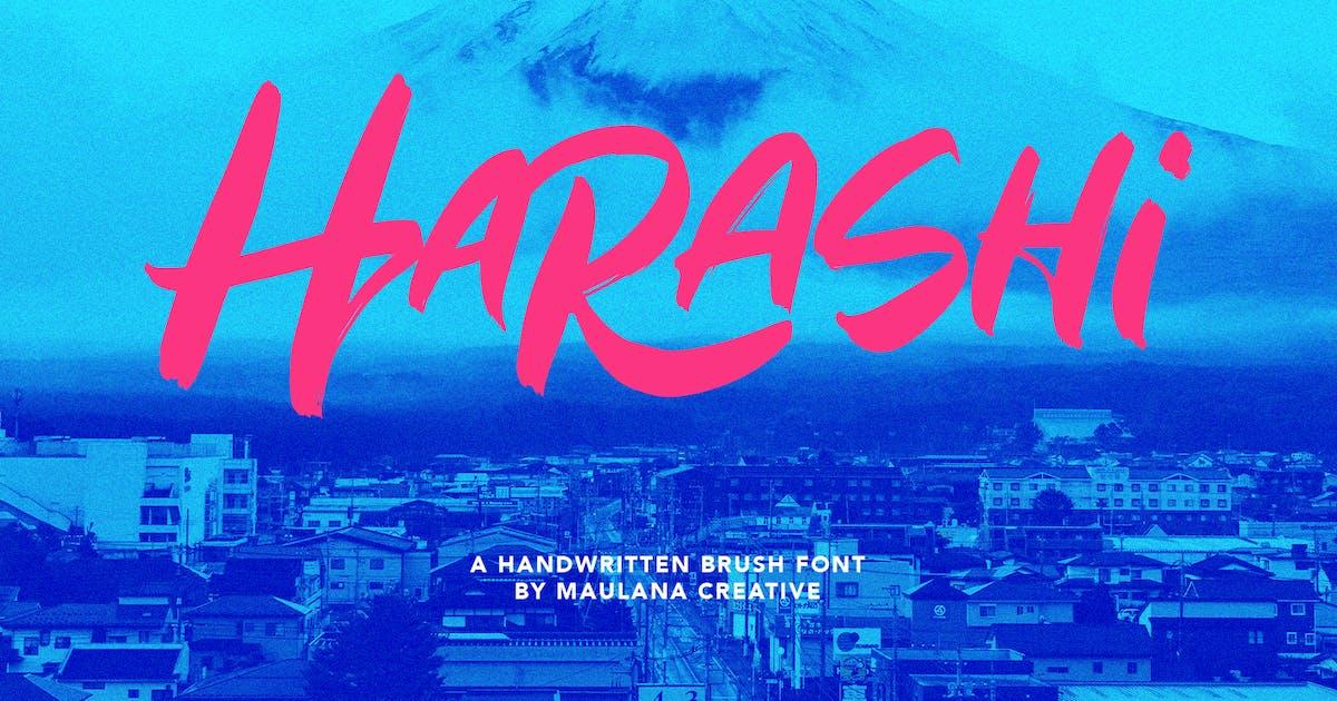 Download Harashi Handwritten Brush Font by maulanacreative