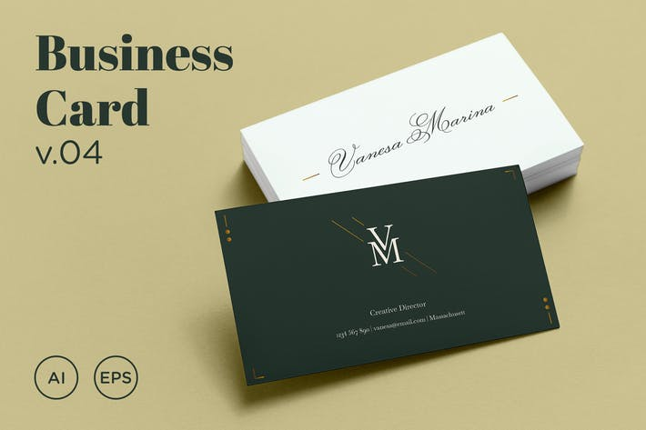 Thumbnail for Business Card v.04