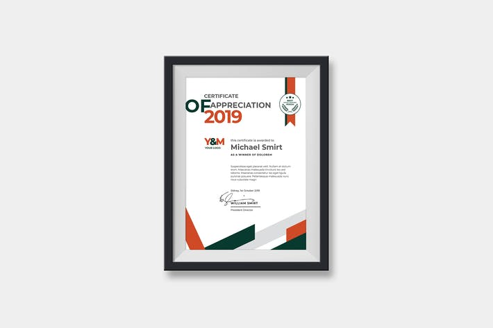 Cover Image For Portrait Abstract Certificates