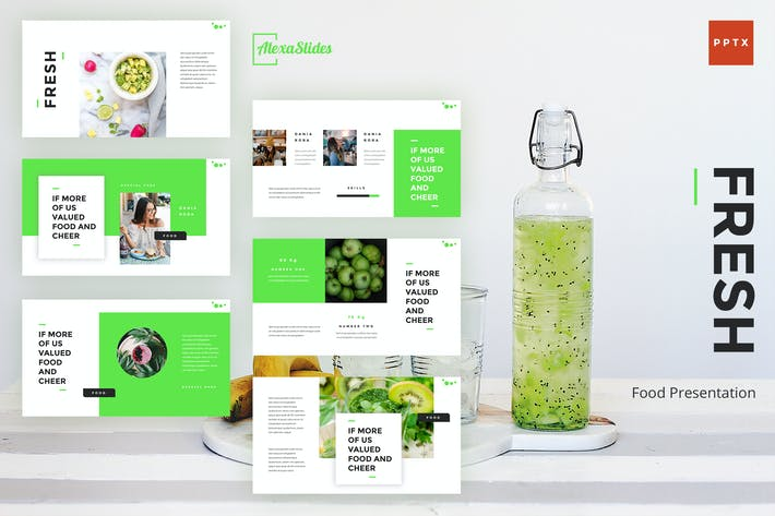 Thumbnail for Fresh - Food Powerpoint Presentation Template