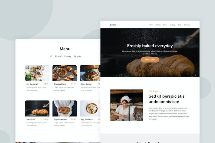 Thumbnail for Bakery - Email Newsletter