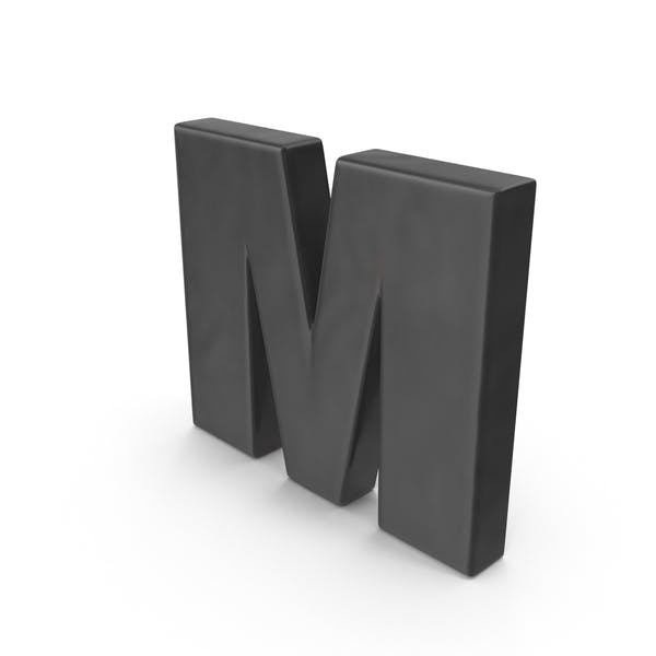 Thumbnail for Alphabet Fridge Magnet M