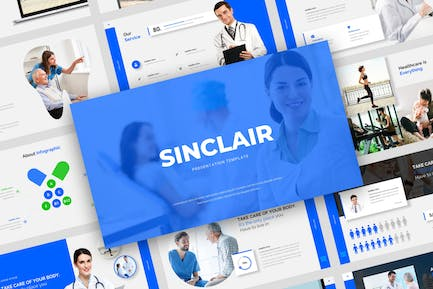 Sinclair- Medical Powerpoint Templates