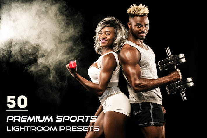 Thumbnail for 50 Premium Sports Lightroom Presets