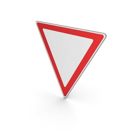 Verkehrszeichen geben Way