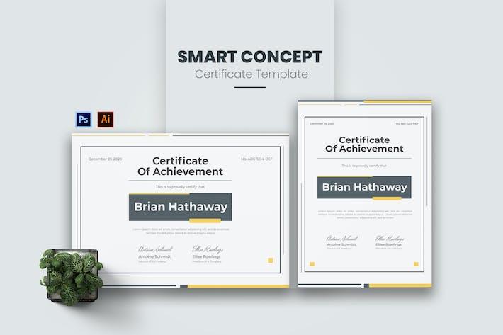 Thumbnail for Сертификат Smart Concept