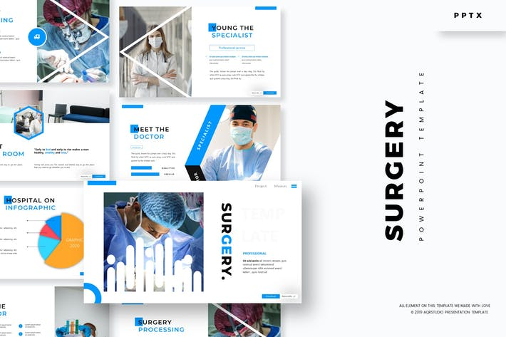 Surgery - Powerpoint Template