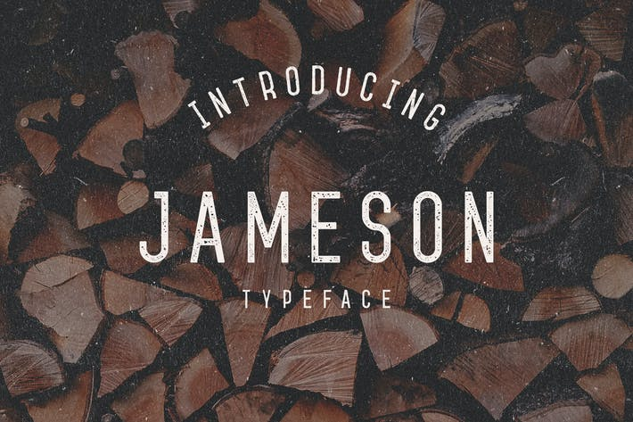Thumbnail for Jameson Typeface