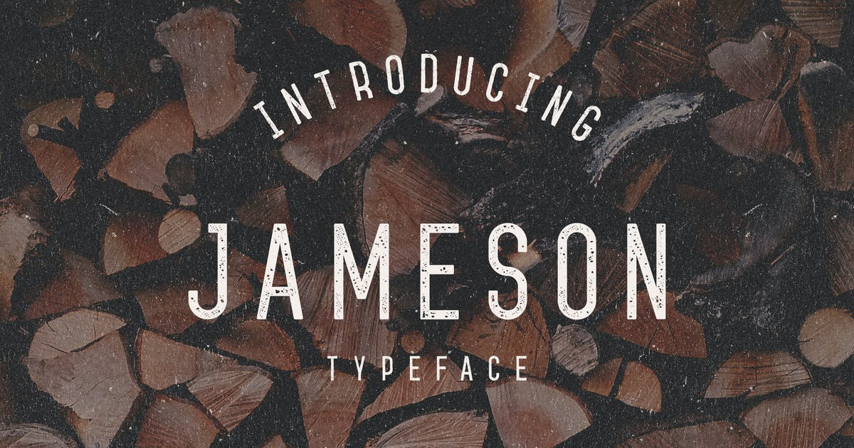 Download Jameson Typeface by mankoff