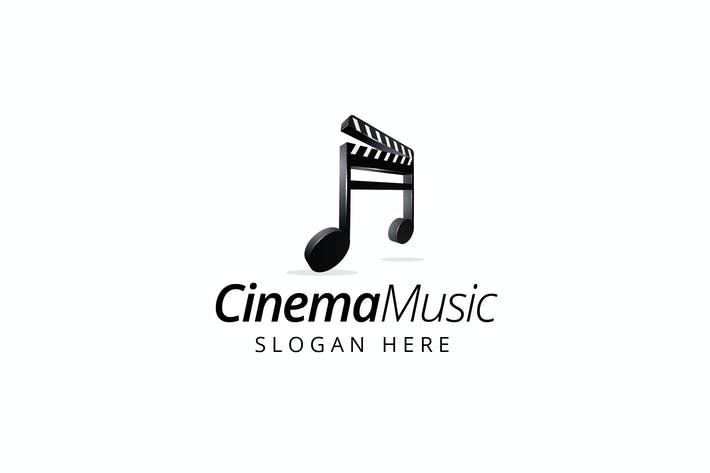 Thumbnail for Cinema Music - Logo Templates