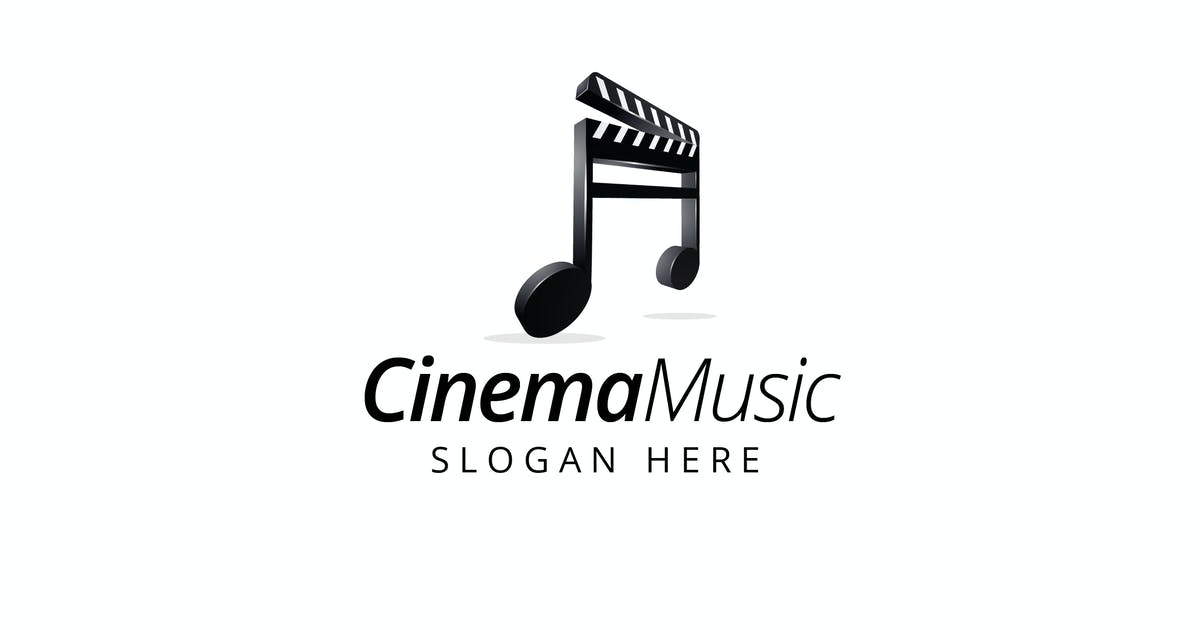 Download Cinema Music - Logo Templates by jiwstudio