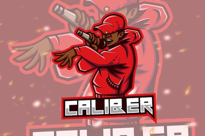 Thumbnail for Caliber Rap Rnb Battle Logo