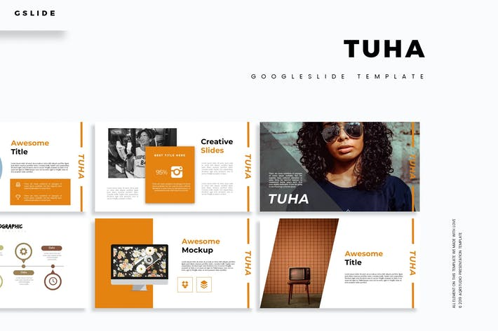 Cover Image For Tuha - Google Slide Template