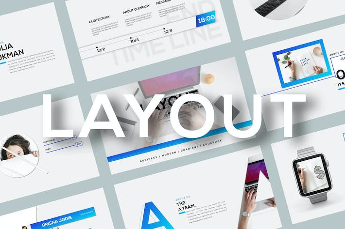 Thumbnail for Layout - Powerpoint Template