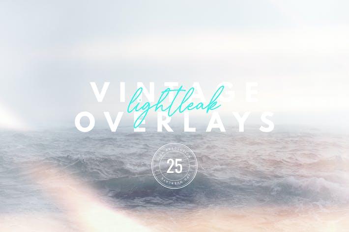 Thumbnail for Vintage Light Leak Overlays