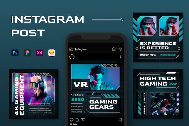 Instagram Gaming