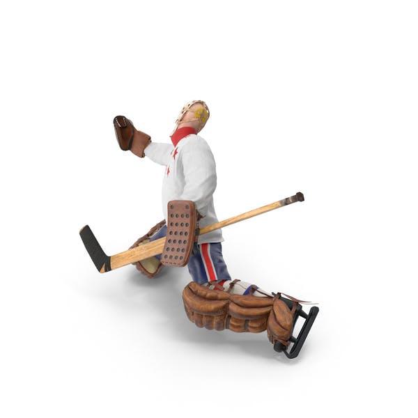 Thumbnail for Ice Hockey Goalie Missing Pose