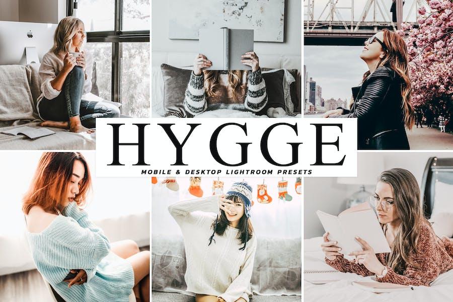 Пресеты Lightroom ли Hygge для мобильных и настольных компьютеров