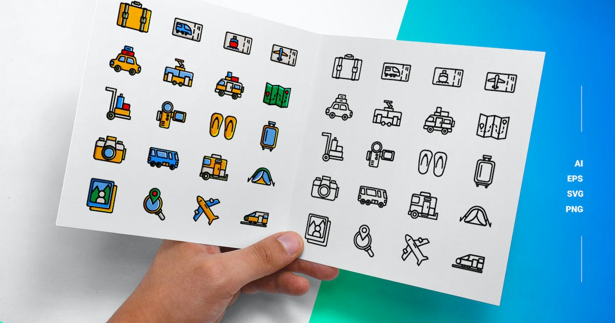 Download Travel - Icons by esensifiksi