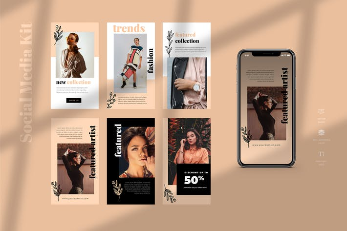 Thumbnail for Five - Instagram Stories - Social Media Kit