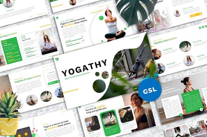 Yogathy - Yoga Googlelside Template