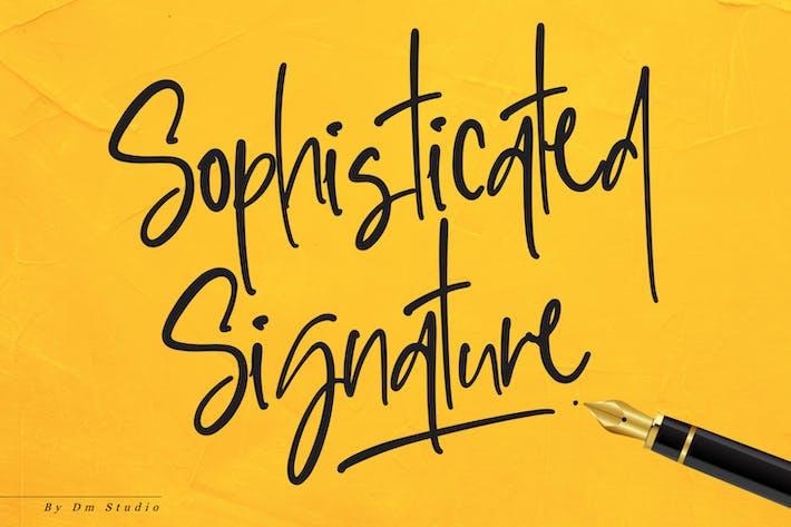 ¡ Firma sofisticada!!