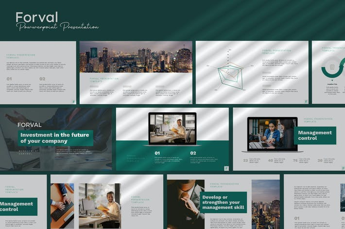 Thumbnail for Forval - Corporate Powerpoint Template