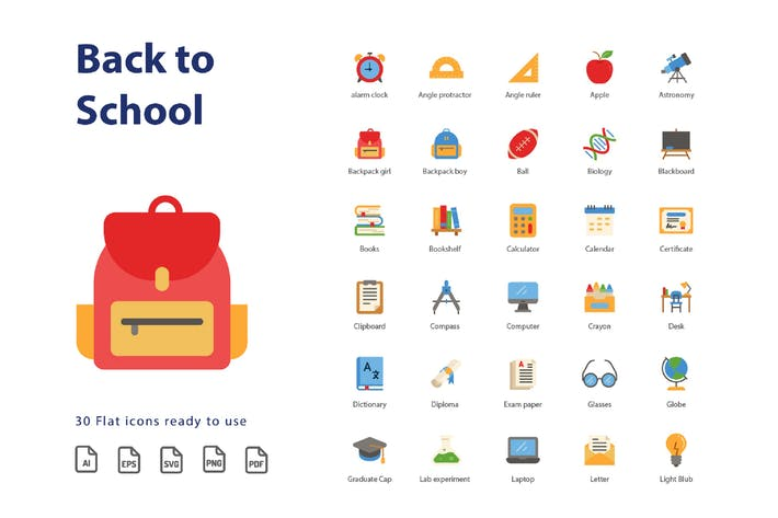 Back To School (Flat)