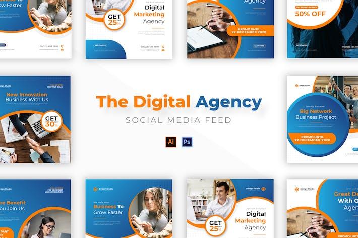 Thumbnail for Digital Agency Socmed Post