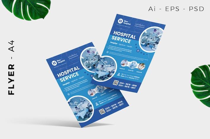 Emergency Medical Flyer Design