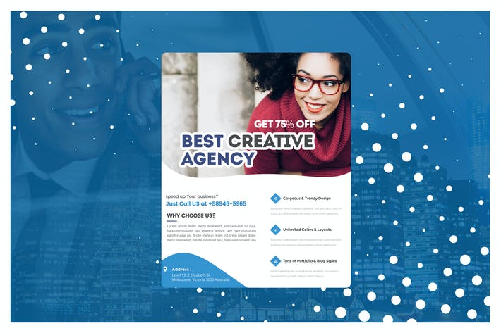 Thumbnail for Multiple Business Marketing Flyer Template