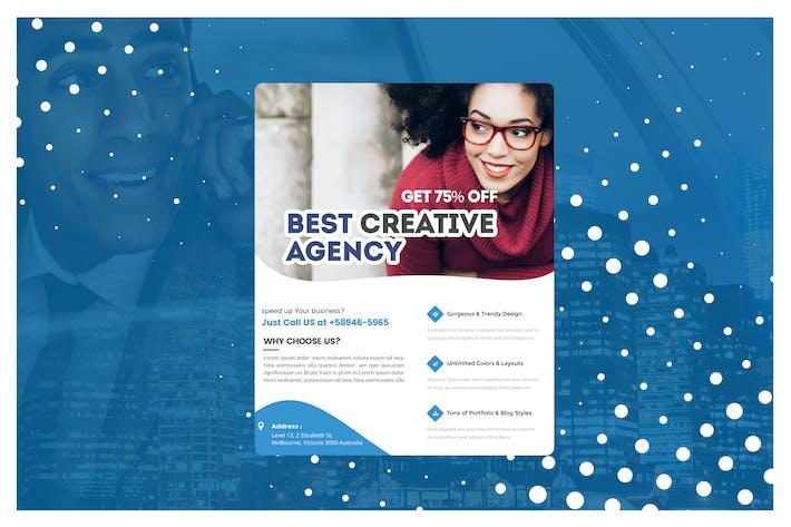 Multiple Business Marketing Flyer Template