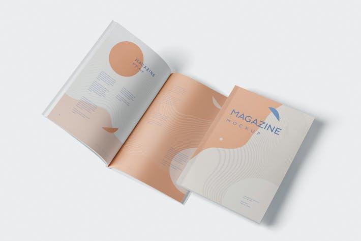 Thumbnail for Brochure - Magazine Mockup Set - 7x10 Inch