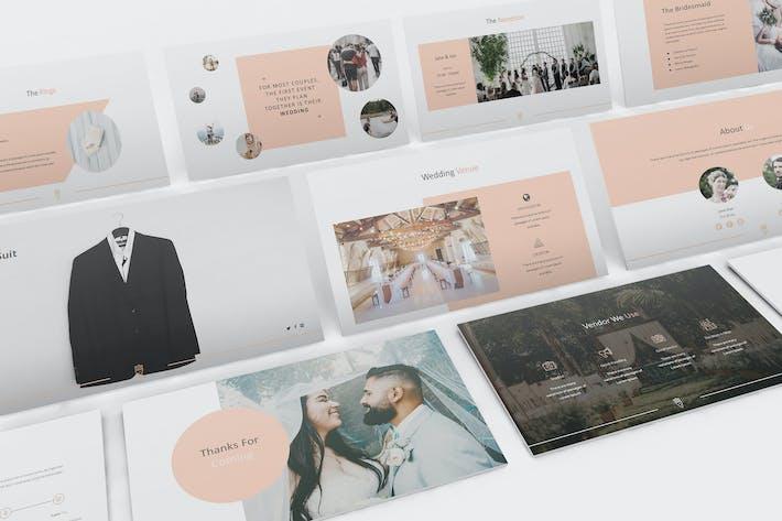 Thumbnail for Wedding Keynote Presentation Template